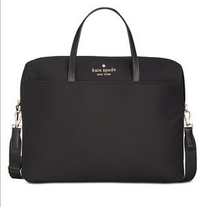 Kate Spade Nylon Commuter Laptop case.